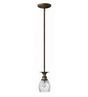 Picture for category Hinkley 5317PZ Plantation Mini Pendants 5in Pearl Bronze Cast Aluminum 1-light