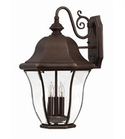 Picture for category Hinkley 2335CB Monticello Outdoor Lighting Lamps 13in Copper Bronze Solid Brass