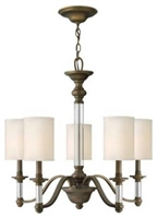 Picture for category Hinkley 4795EZ Sussex Chandeliers 26in English Bronze Metal 5-light