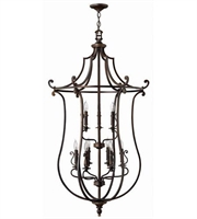 Picture for category Hinkley 4259OB Plymouth Chandeliers 30in Olde Bronze Metal 9-light