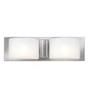 Picture for category Hinkley 55482CM Daria Bath Lighting 17in Chrome Steel 2-light