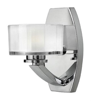 Picture for category Hinkley 5590CM Meridian Bath Lighting 5in Chrome Metal 1-light