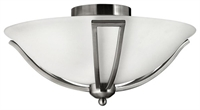 Picture for category Hinkley Lighting 4660BN Semi Flush Bolla