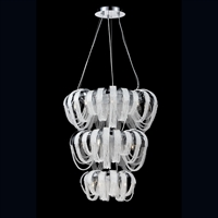 Picture for category Eurofase 26597-010 Sage Chandeliers CHROME 17-light