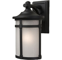 Picture for category Artcraft AC8630BZ St moritz Outdoor Lighting Lamps 6in Bronze Cast Aluminum