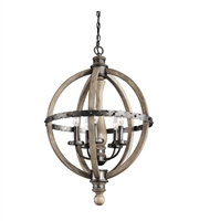 Picture for category Kichler 43324DAG Evan Chandeliers 20in