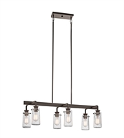 Picture for category Kichler 43059OZ Braelyn Island Lighting 15in