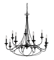 Picture for category Kichler lighting 43455DBK Chandelier  from the basel collection
