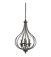 Picture for category Kichler 43332OZ Kensington Pendants 16in