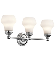 Picture for category Kichler 45488CH Currituck Bath Lighting 23in Chrome