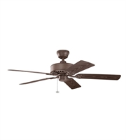 Picture for category Kichler 339515TZP Renew Patio Ceiling Fans 52in Tannery Bronze Powder Coat