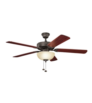 Picture of Kichler 403SNB Basics Revisited Ceiling Fans 52in Satin Natural Bronze