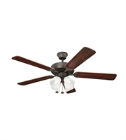 Picture for category Kichler 402SNB Basics Revisited Ceiling Fans 52in