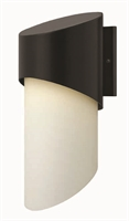 Picture for category Hinkley 2065SK Solo Outdoor Lighting Lamps 8in Satin Black Aluminum 1-light