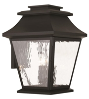 Picture for category Livex 20240-04 Hathaway Outdoor Wall Sconces 14in Black 4-light