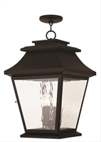 Picture for category Livex 20243-07 Hathaway Pendants Bronze 4-light