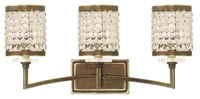 Picture for category Livex 50563-64 Grammercy Bath Lighting 23in Hand Painted Palacial Bronze