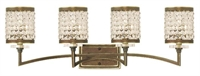 Picture for category Livex 50564-64 Grammercy Bath Lighting 33in Hand Painted Palacial Bronze