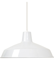Picture for category Nuvo SF76/283 Signature Pendants 16in White Warehouse Shade 1-light