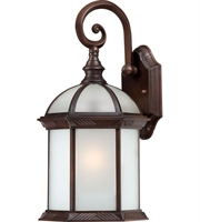 Picture for category Nuvo 60/4982 Boxwood Outdoor Lighting Lamps 8in Rustic Bronze Aluminum 1-light