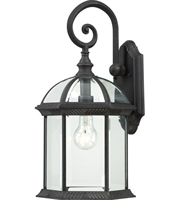 Picture for category Nuvo 60/4966 Boxwood Outdoor Lighting Lamps 10in Textured Black Aluminum