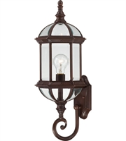 Picture for category Nuvo 60/4972 Boxwood Outdoor Lighting Lamps 8in Rustic Bronze Aluminum 1-light
