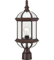Picture for category Nuvo 60/4975 Boxwood Outdoor Lighting Lamps 8in Rustic Bronze Aluminum 1-light