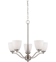 Picture for category Nuvo Lighting 60/5055 Chandelier  from the patton collection