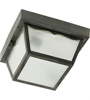 Picture for category Nuvo SF77/863 Signature Outdoor Lanterns 8in Black Frosted Acrylic Panels