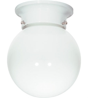 Picture for category Nuvo SF77/947 Signature Outdoor Lanterns 6in White White Ball 1-light