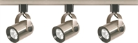 Picture for category Nuvo TK354 Track Lighting Track Lighting 2in Brushed Nickel 3-light