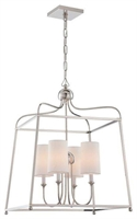 Picture for category Crystorama Lighting 2244-PN Chandelier  from the libby for crystorama:sylvan collection