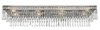 Picture for category Crystorama 5267-OS-CL-MWP Mercer Bath Lighting 32in Olde Silver Steel + Crystal