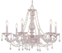 Picture for category Crystorama Lighting 5026-AW-CL-S Chandelier  from the sutton collection