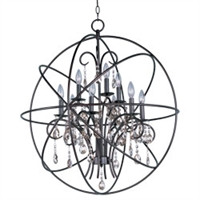 Picture for category Maxim 25145OI Orbit Chandeliers 30in METAL 9-light