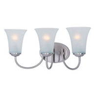 Picture for category Maxim 10053FTSN Logan Bath Lighting 19in 3-light