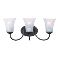 Picture for category Maxim 10053FTOI Modern Bath Lighting 19in 3-light