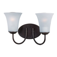 Picture for category Maxim 10052FTOI Logan Bath Lighting 14in 2-light