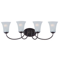 Picture for category Maxim 10054FTOI Modern Bath Lighting 28in 4-light