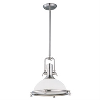 Picture for category Maxim 25117SWSN Hi bay Pendants 18in 1-light