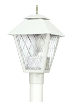 Picture for category Wave 109C70H Colonial Hid Gas Post Light Non Corrosive Durable Polymer 1-light