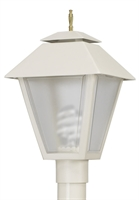 Picture for category Wave 109FG18 Colonial Gas Post Light Non Corrosive Durable Polymer 1-light