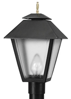 Picture for category Wave 110FG13 Colonial Gas Post Light Non Corrosive Durable Polymer 1-light