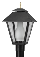 Picture for category Wave 112G26 Colonial Gas Post Light Non Corrosive Durable Polymer 1-light