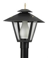 Picture for category Wave 114G18 Colonial Gas Post Light Non Corrosive Durable Polymer 1-light