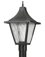 Picture for category Wave 610FG26 Vanguard Gas Post Light Non Corrosive Durable Polymer 1-light
