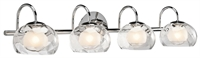 Picture for category Elan 83077 Niu Bath Lighting 8in Steel 4-light