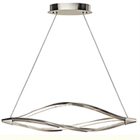Picture for category Elan 83391 Meridian Island Lighting 11in Steel