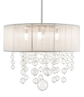 Picture for category Elan 83233 Imbuia Pendants 24in steel 5-light
