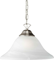 Picture for category Forte 2042-01-55 Forte Lighting Pendant Lanterns 16in Steel 1-light